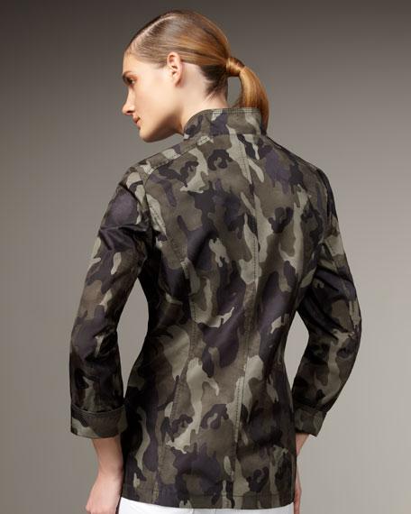 Camo Safari Jacket