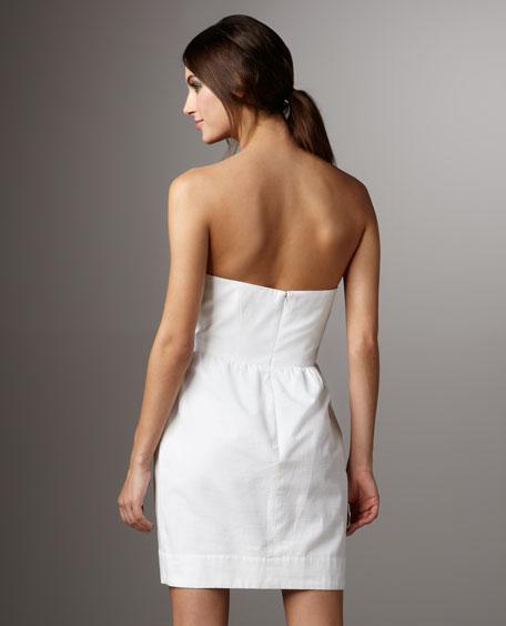 Beaded-Detail Dress