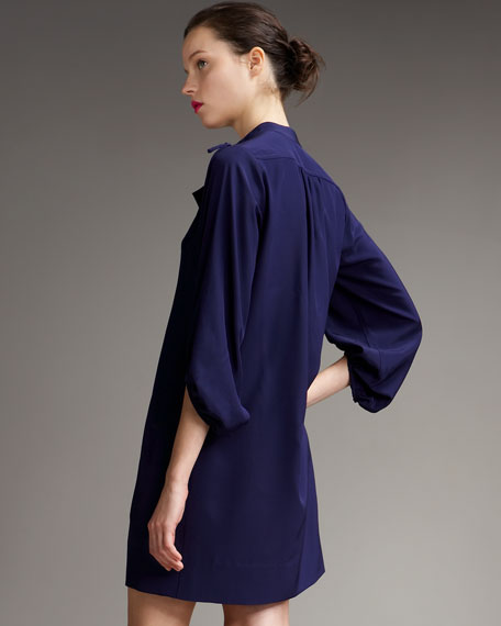 Bairly Louche Crepe Dress
