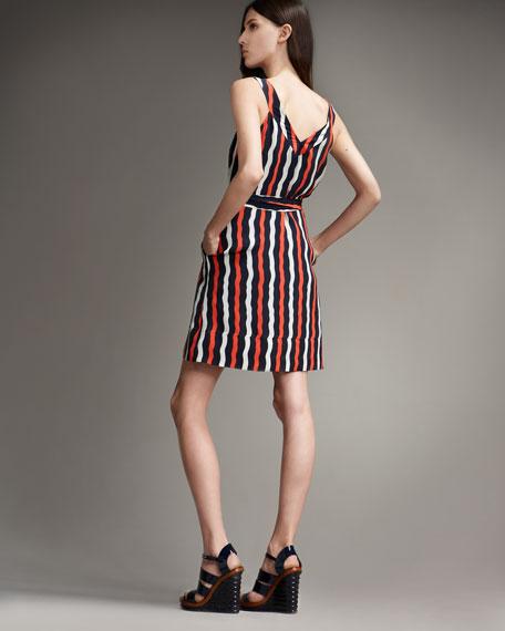Bow-Wow Stripe Dress