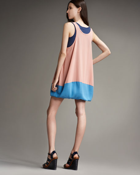 Dia Mix Jersey Dress