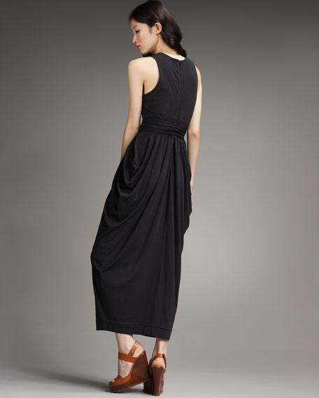 Swirl Stripe Jersey Dress