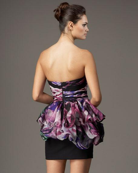 Sweetheart Peplum Dress