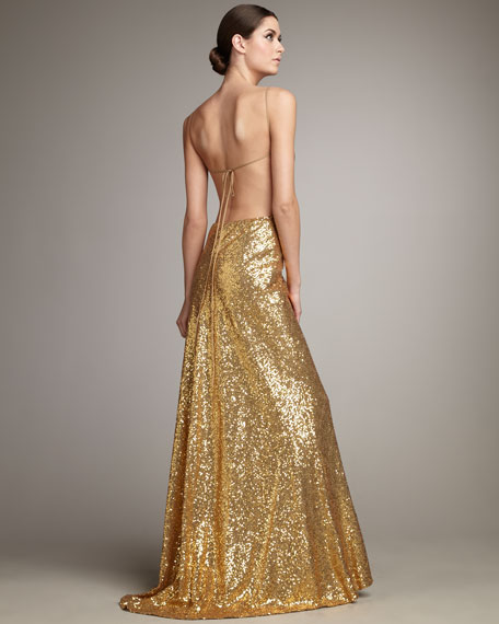 Valerie Sequin Gown