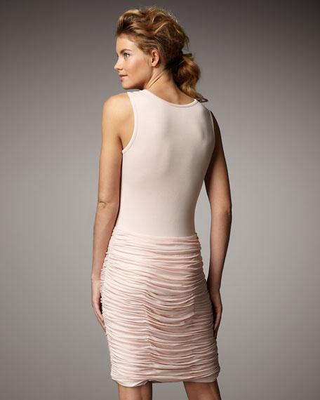 Ruched Bottom Dress