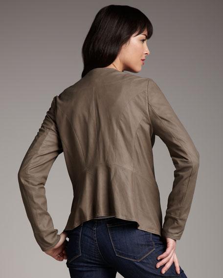 Waterfall Drape-Front Jacket