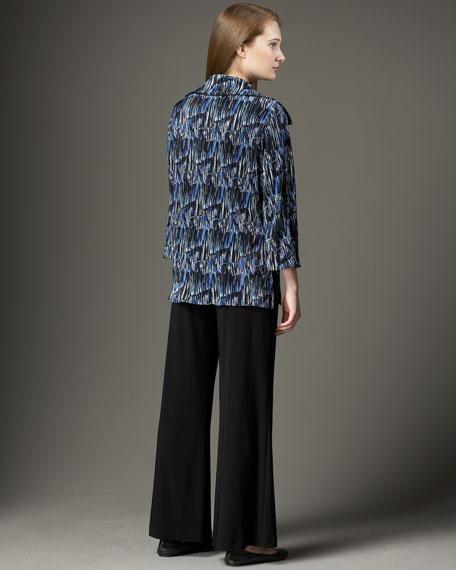 Fine Lines Plisse Shirt, Women's