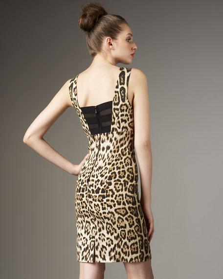 Nicola Leopard-Print Dress