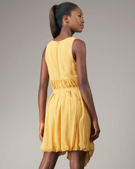 Beaded Chiffon Dress