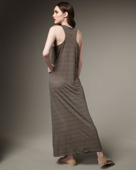 Bellina Striped Maxi Dress