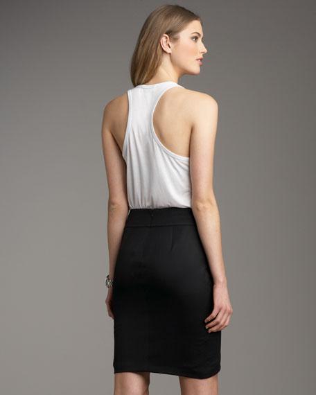 Pleated Tulip Skirt