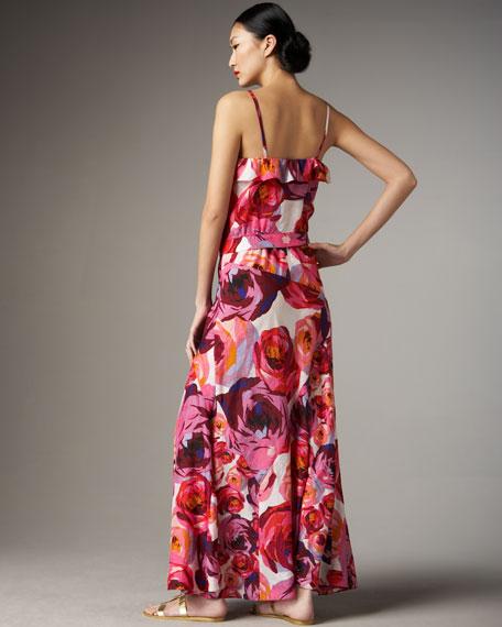 Rain or Shine Floral Maxi Dress