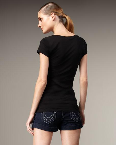 Jess Glitz & Glam Cuffed Shorts