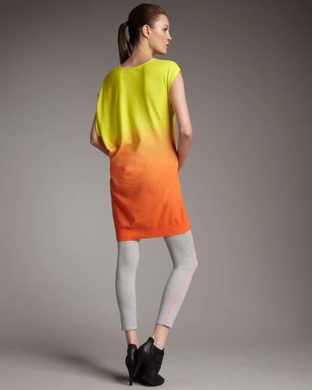 Asymmetric Neon Dress