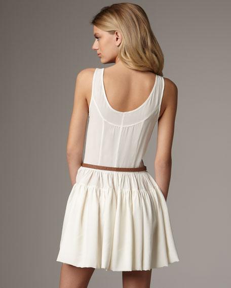 Lou Belted Tank Dress