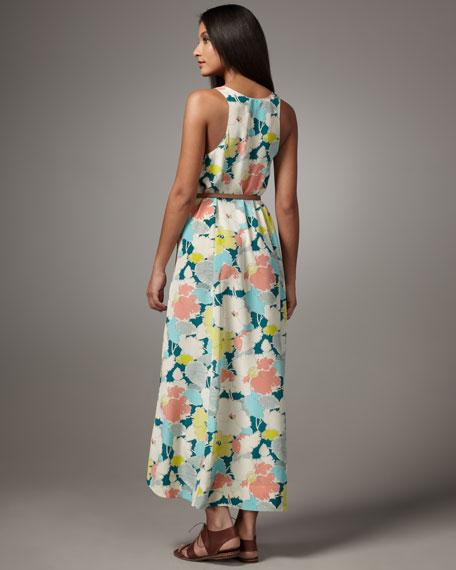 Aileen Garden Party Silk Maxi Dress