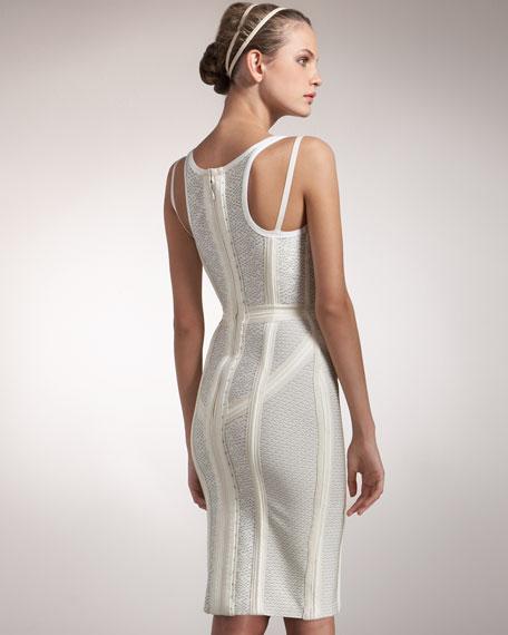 Seamed Runway Dress