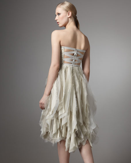 Felicity Strapless Party Dress