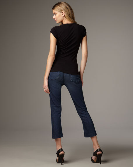 Taylor Seabrig Cropped Trouser Jeans