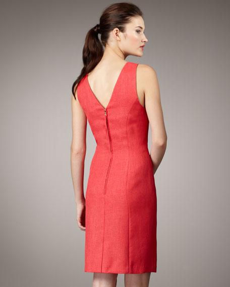 Chain Halter Dress