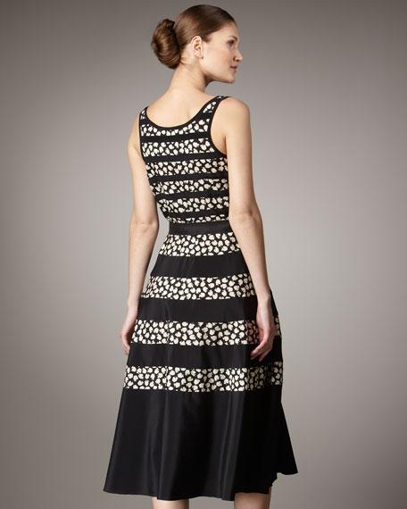 Gala-Print Tank Dress