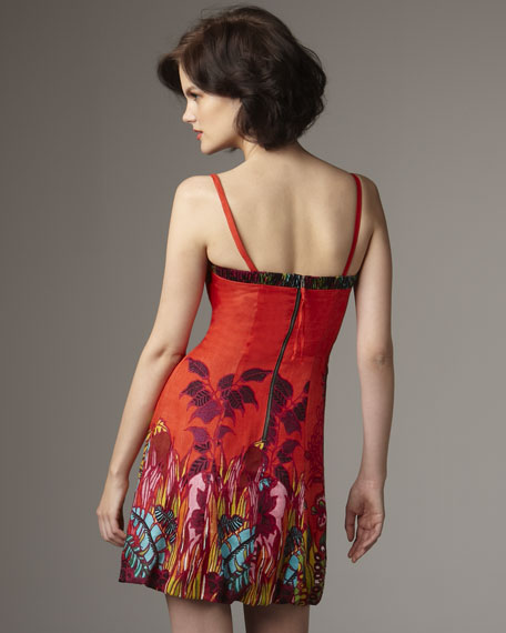 Tropical Heat Printed Dress