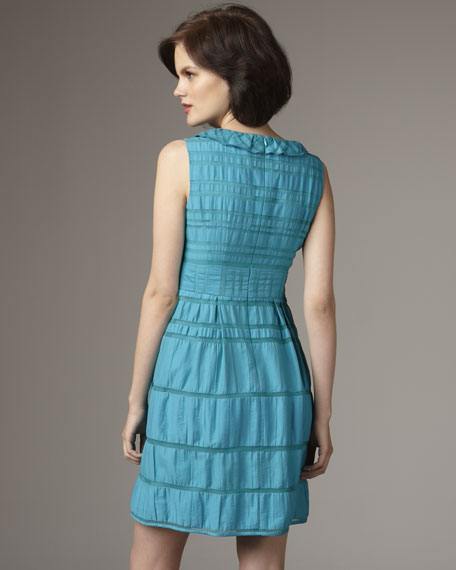 Teal Lovers Leap Dress