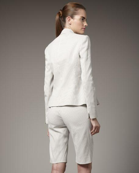 Seersucker Shorts Suit