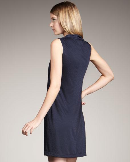 Cowl-Neck Dress