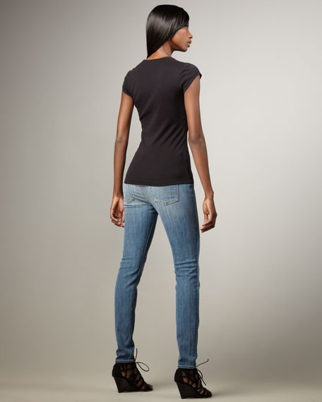 Gwenevere Malibu Sands High-Waist Jeans
