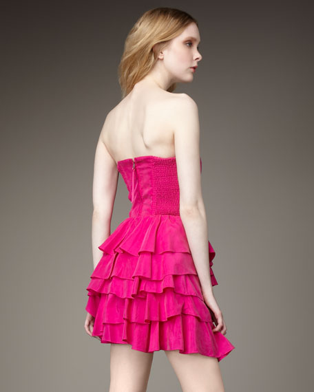 Party Girl Strapless Dress