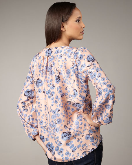 Carnation Forest Blouse