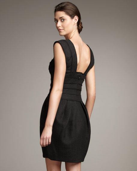 Sleeveless Dress, Charcoal