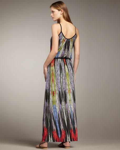 Ikat Sunset Maxi Dress