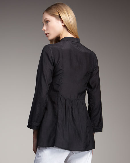 Bib Tunic, Black