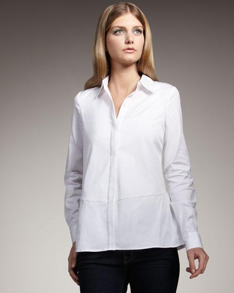 Ruffle-Back Shirt