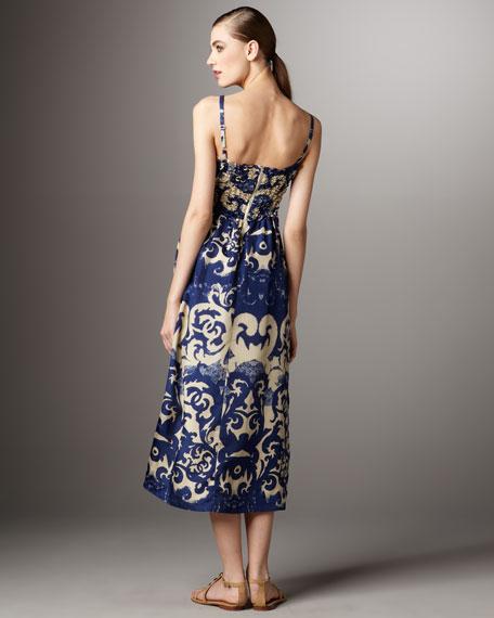 Byzantine Boho Maxi Dress
