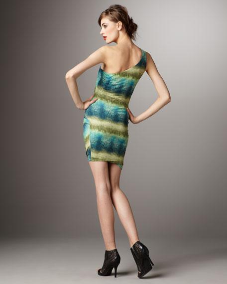 Steffe One-Shoulder Dress
