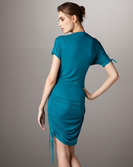 Side-Drawstring Dress