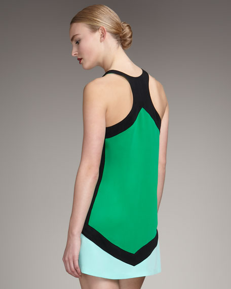 Yves Racerback Colorblock Dress