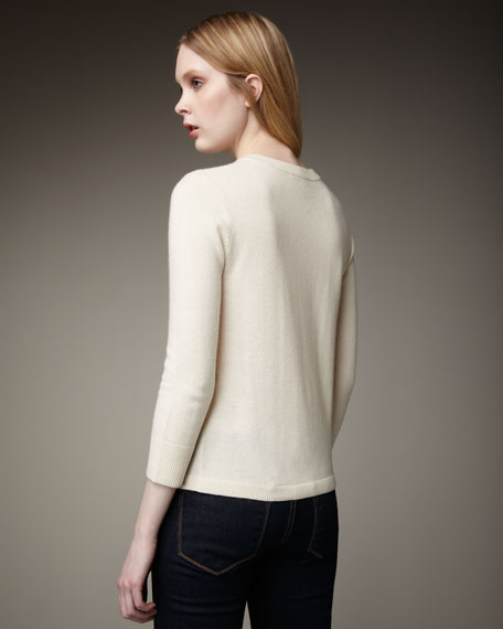 michaeline cardigan, cream