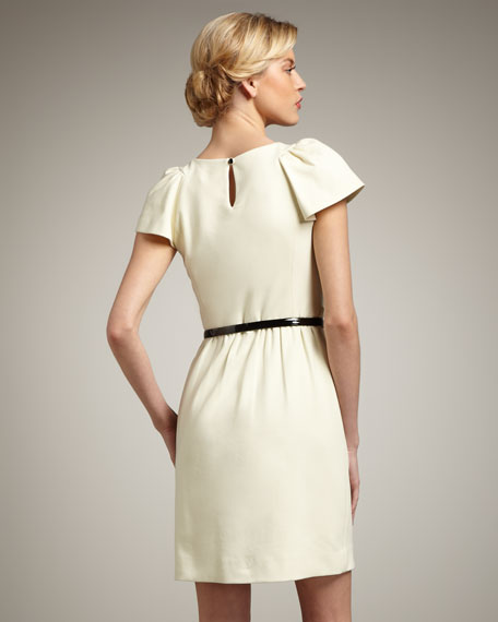 Addison Puff-Sleeve Dress