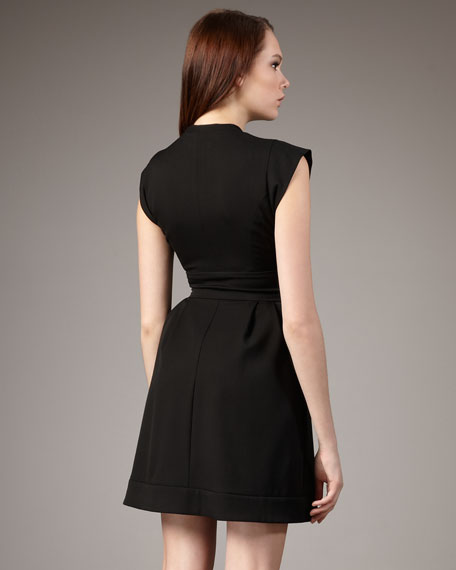Violetta Cap-Sleeve Dress