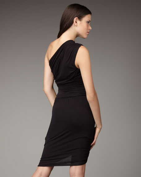 Armadillo One-Shoulder Dress