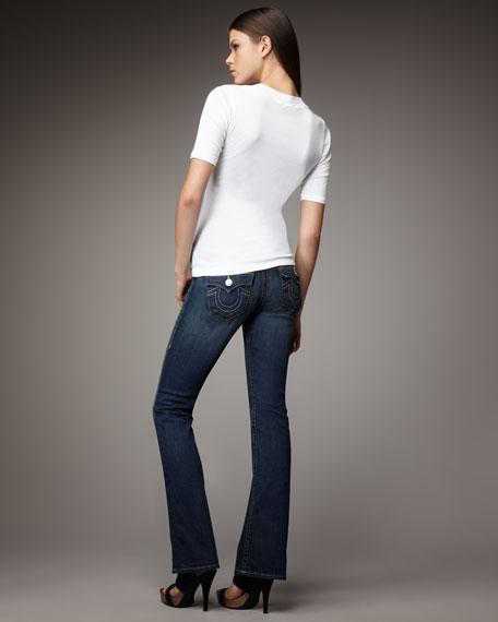 Tony Lonestar Slim Boot-Cut Jeans