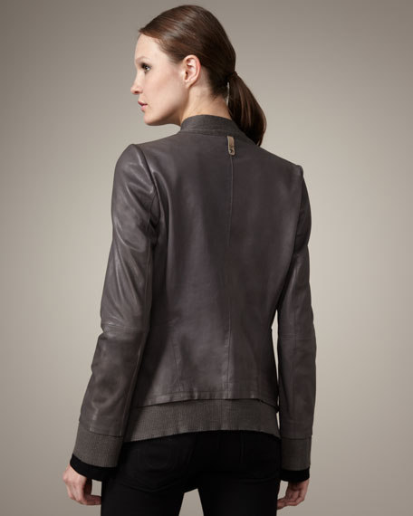 Dee Leather Jacket