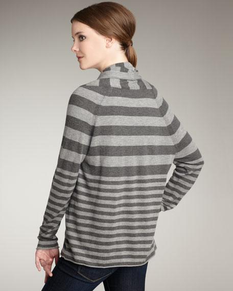 Feidra Striped Cardigan