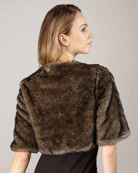 Cropped Fur Jacket