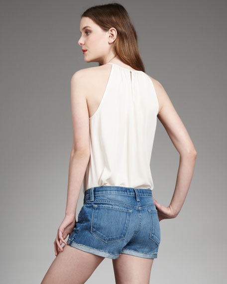 Cuffed Corsica Shorts