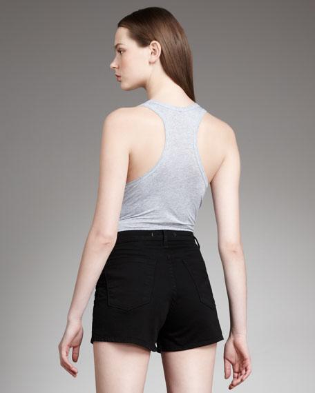 Dita High-Rise Shadow Shorts